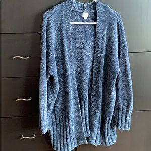 A New Day Oversized Chenille Cardigan